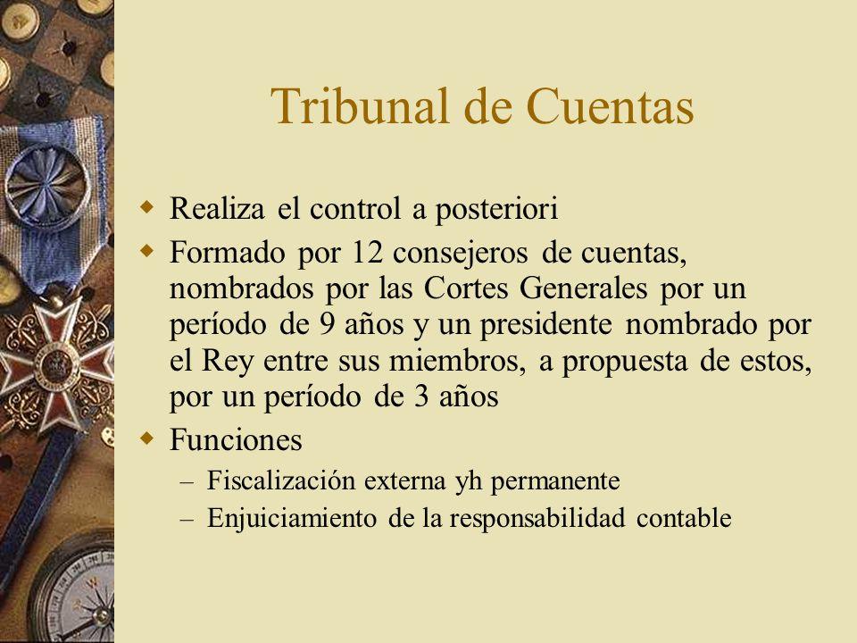 Tribunal de Cuentas Realiza el control a posteriori