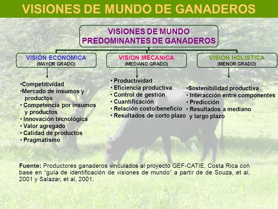 VISIONES DE MUNDO DE GANADEROS
