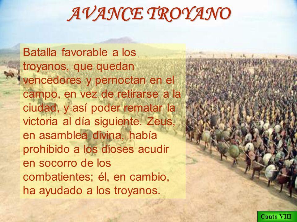 AVANCE TROYANO