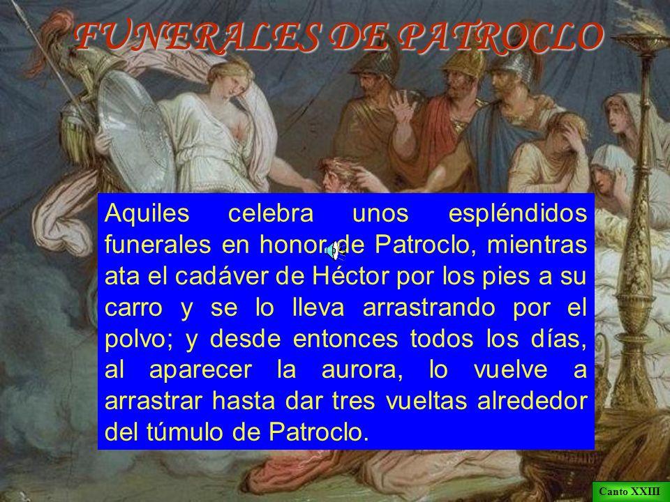FUNERALES DE PATROCLO