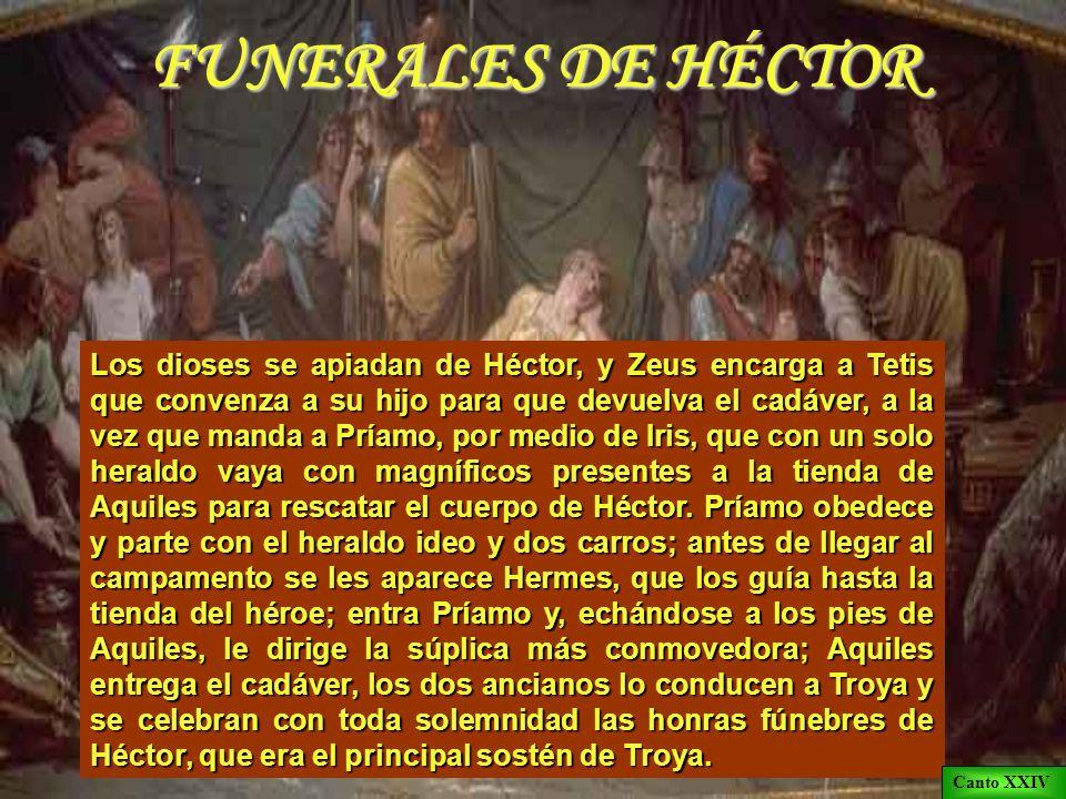 FUNERALES DE HÉCTOR