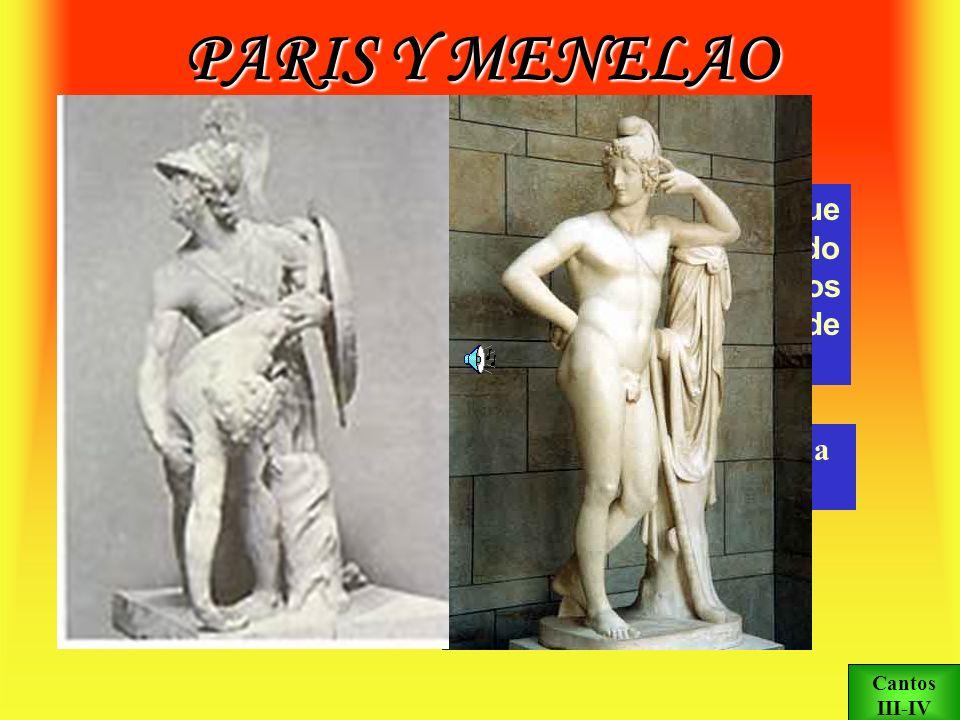 PARIS Y MENELAO