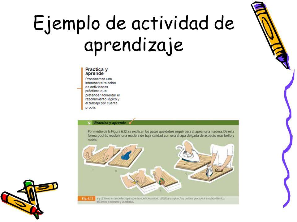Ejemplo de actividad de aprendizaje