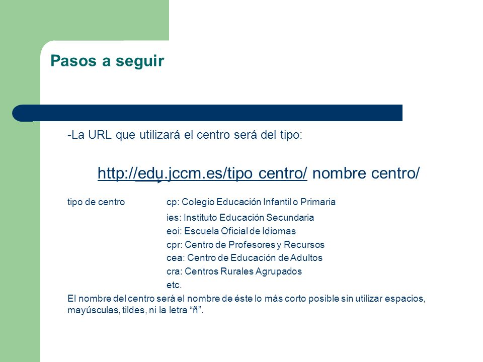 tipo de centro cp: Colegio Educación Infantil o Primaria