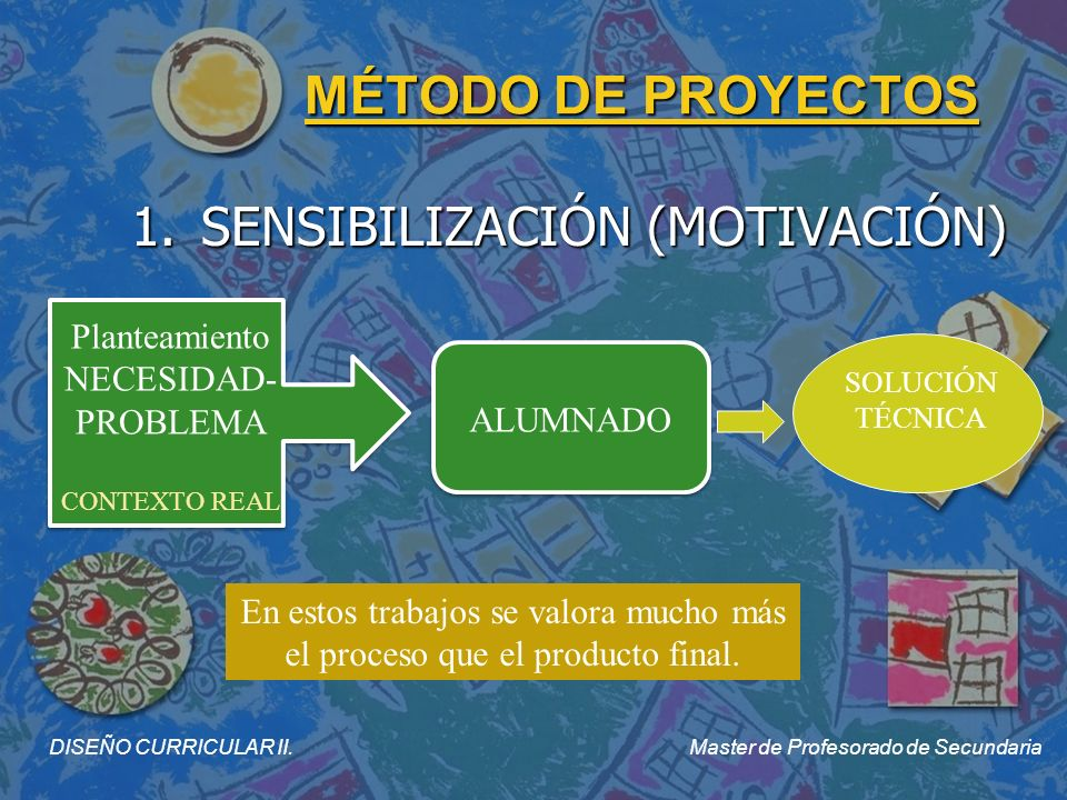 1. SENSIBILIZACIÓN (MOTIVACIÓN)