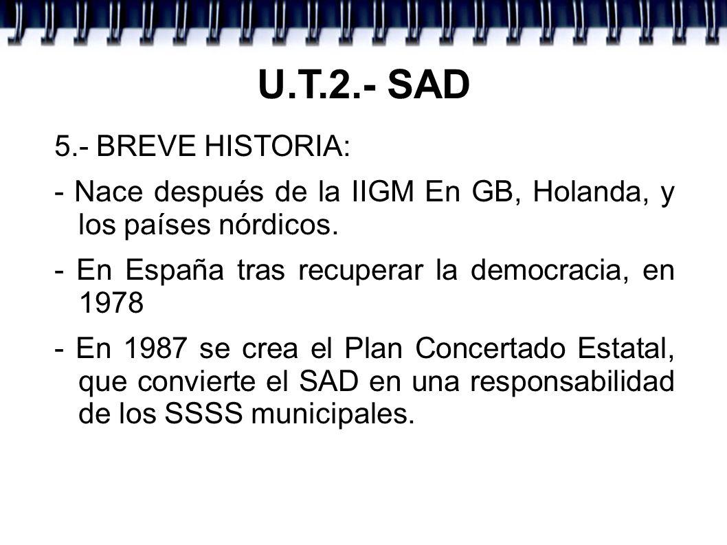 U.T.2.- SAD 5.- BREVE HISTORIA: