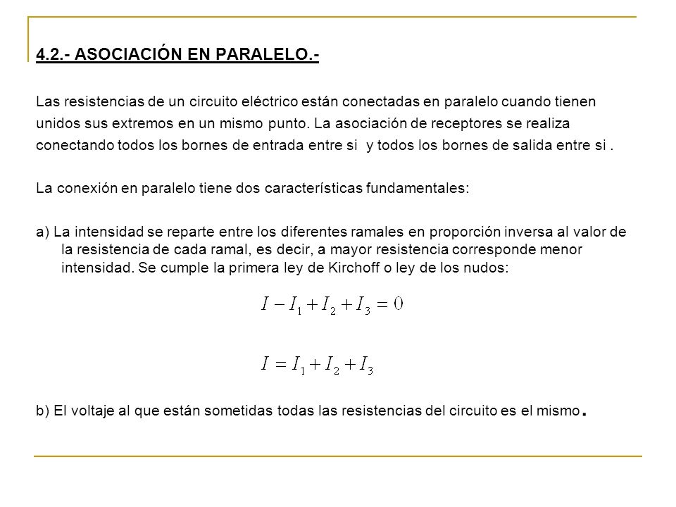 4.2.- ASOCIACIÓN EN PARALELO.-