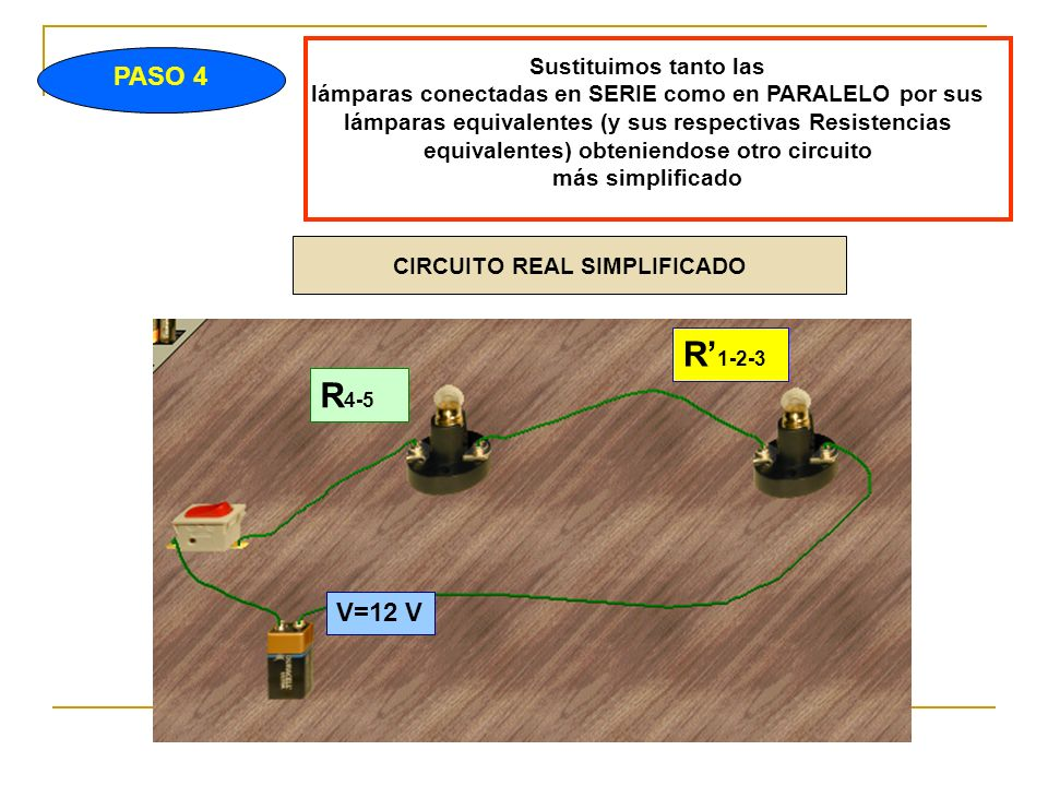 CIRCUITO REAL SIMPLIFICADO