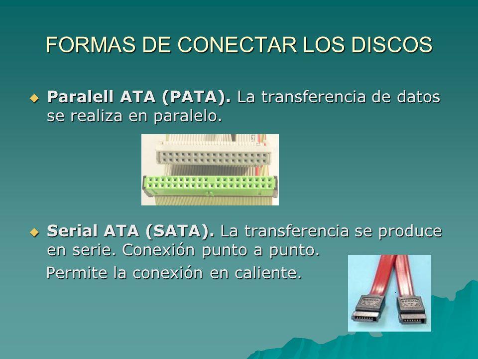 FORMAS DE CONECTAR LOS DISCOS