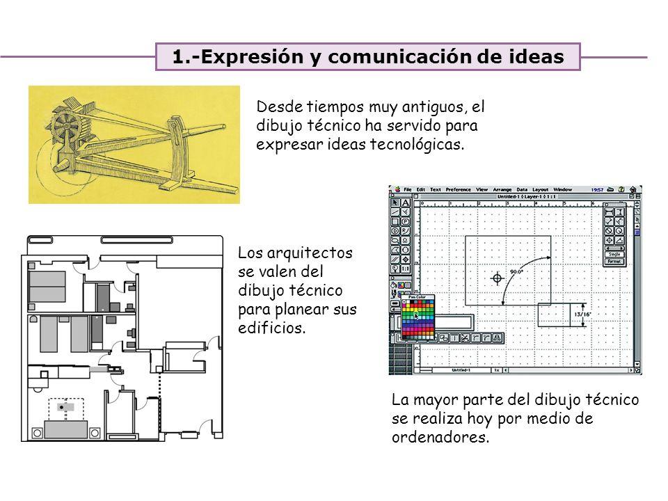 1.-Expresión y comunicación de ideas