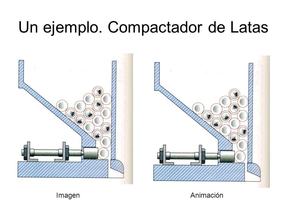 Un ejemplo. Compactador de Latas