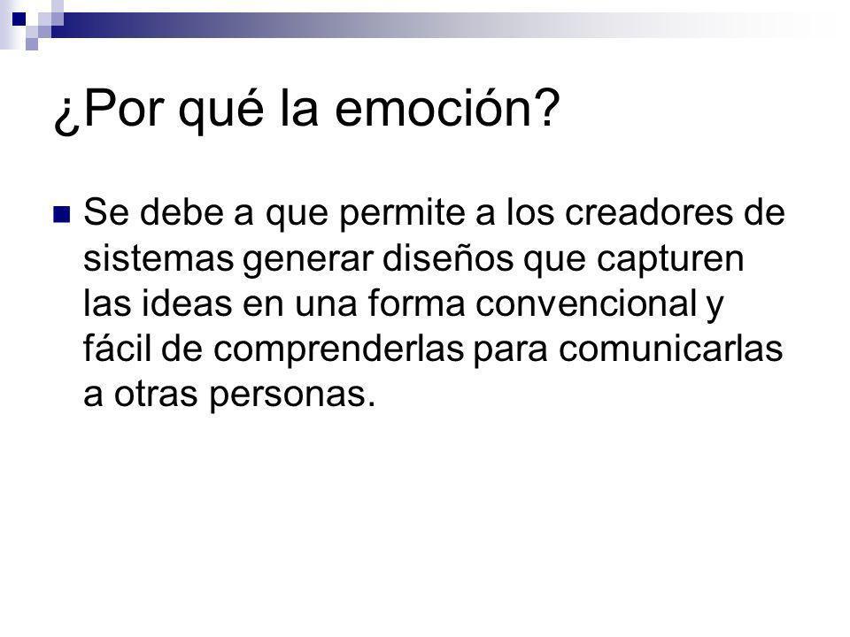 ¿Por qué la emoción