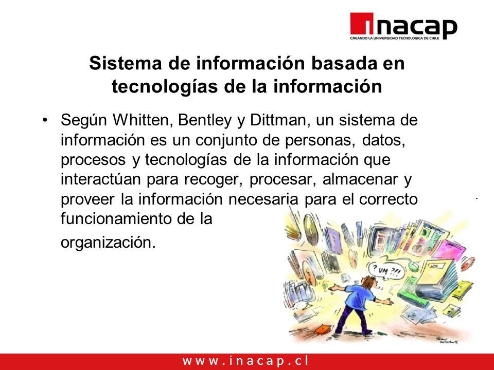 Sistema de información basada en tecnologías de la información
