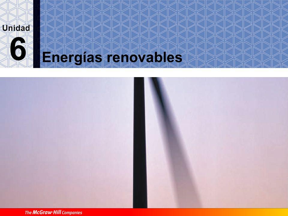 Unidad 6 Energías renovables