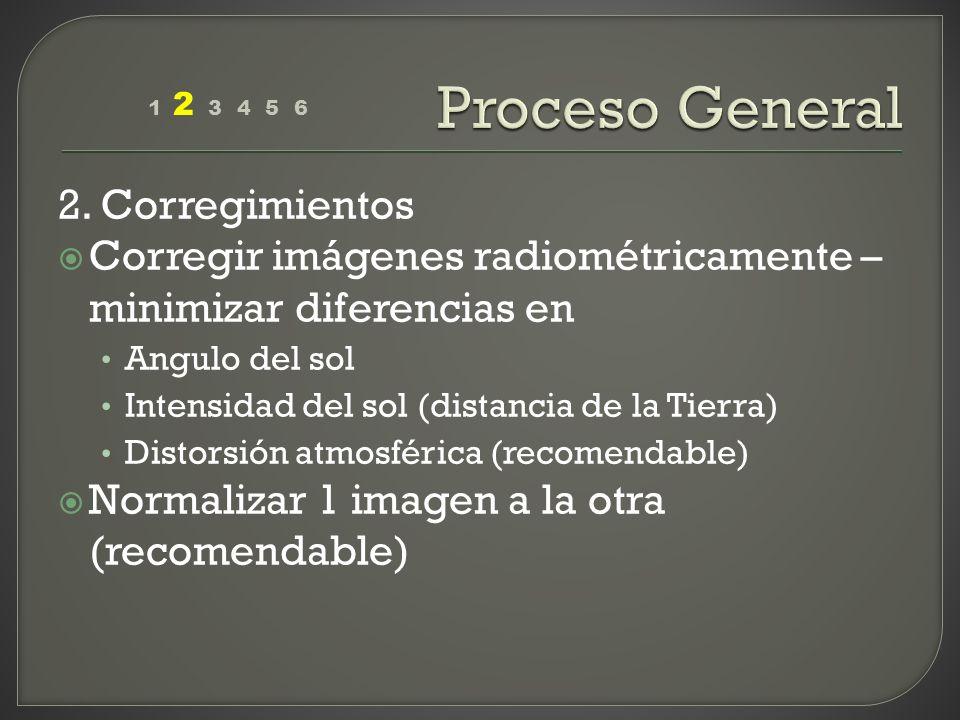 Proceso General 2. Corregimientos