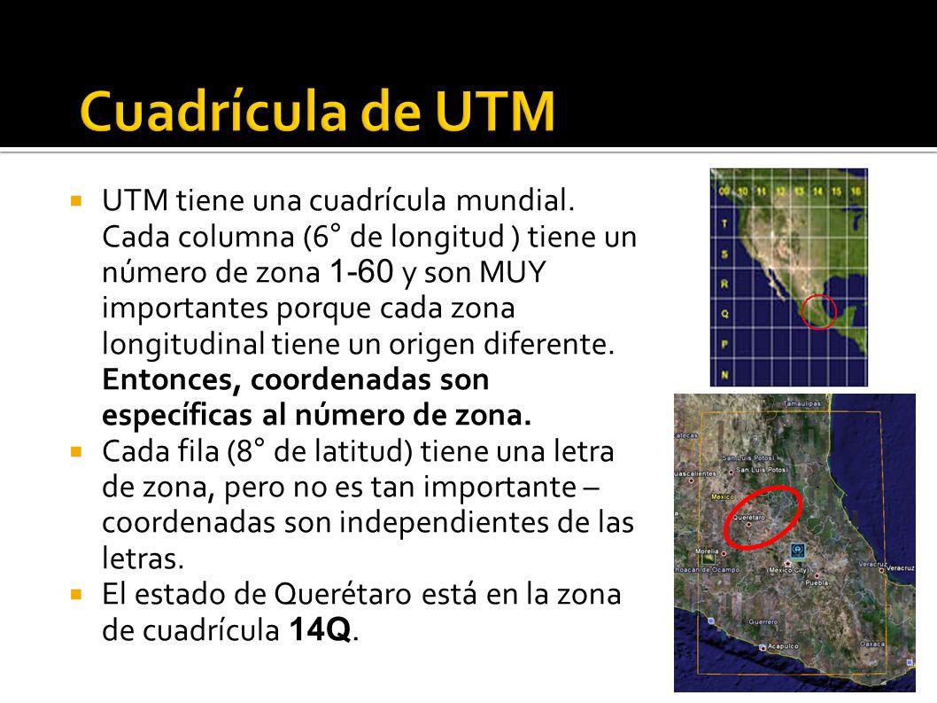 Cuadrícula de UTM