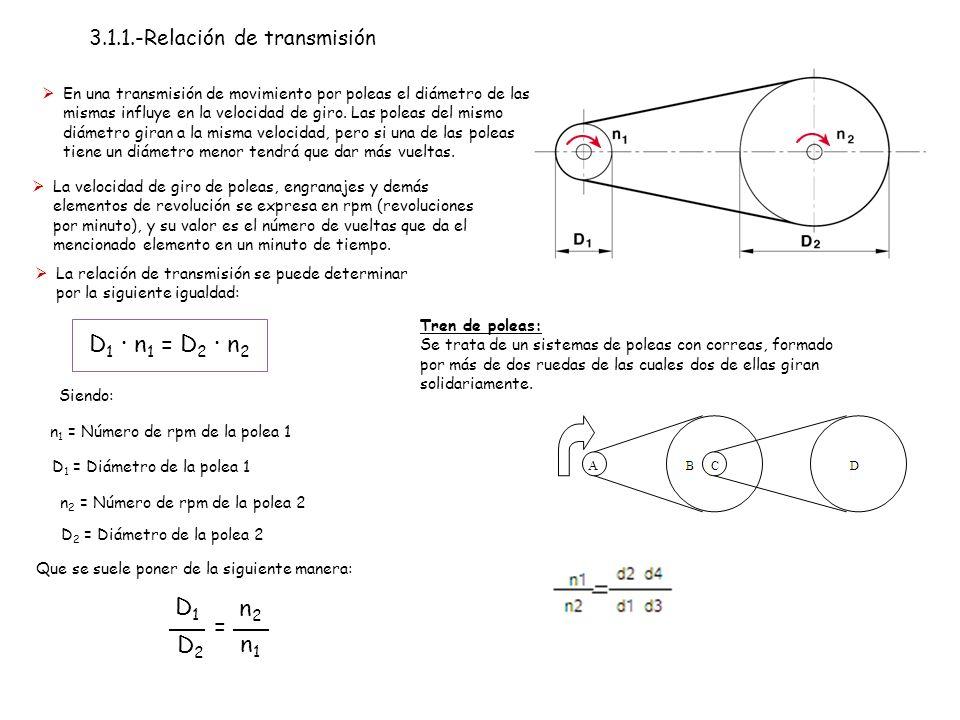 3.1.1.-Relación de transmisión
