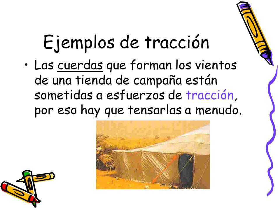 Ejemplos de tracción