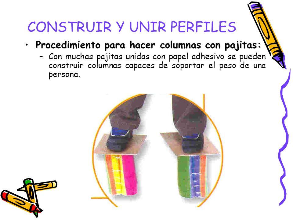 CONSTRUIR Y UNIR PERFILES