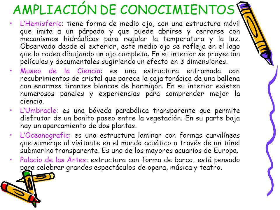 AMPLIACIÓN DE CONOCIMIENTOS