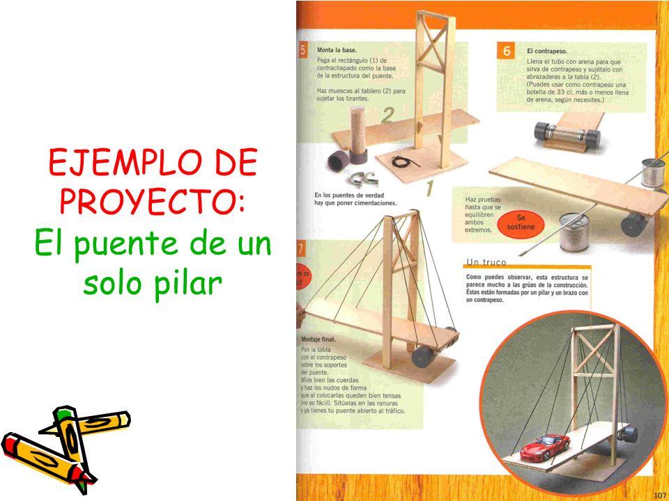 EJEMPLO DE PROYECTO: El puente de un solo pilar