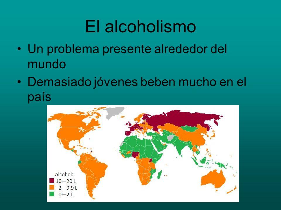 El alcoholismo Un problema presente alrededor del mundo