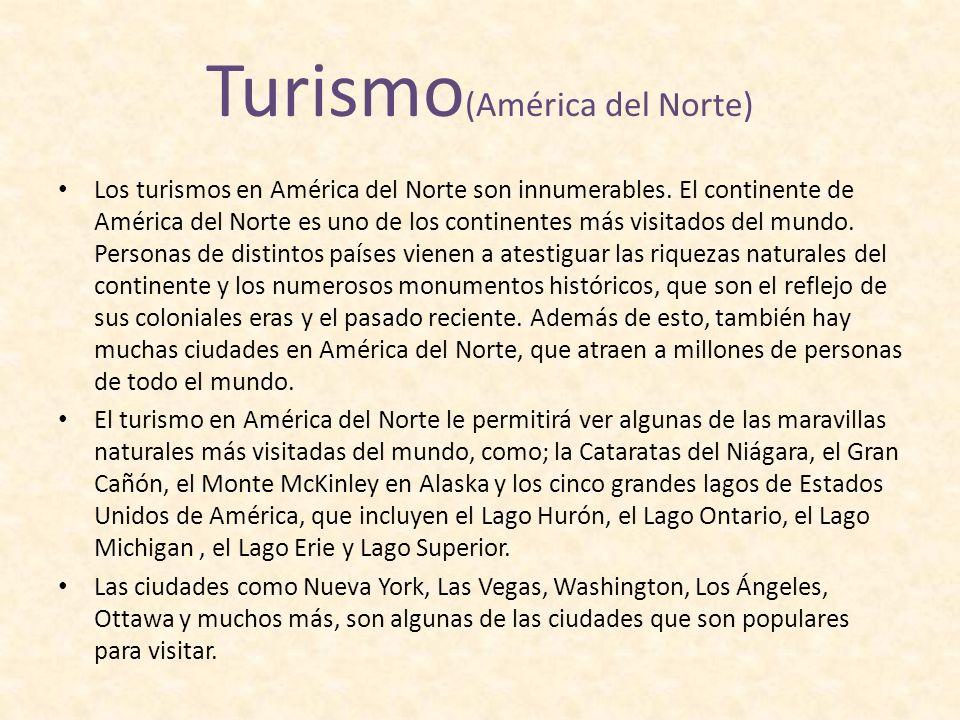 Turismo(América del Norte)
