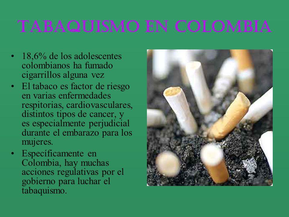 Tabaquismo en Colombia