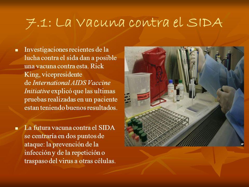7.1: La Vacuna contra el SIDA