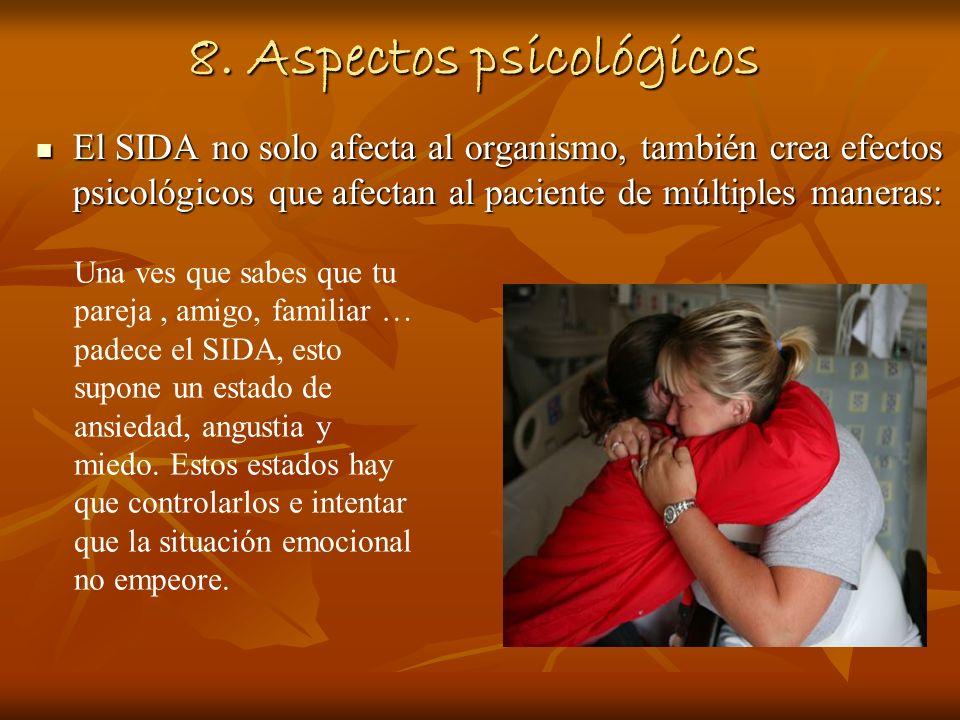 8. Aspectos psicológicos