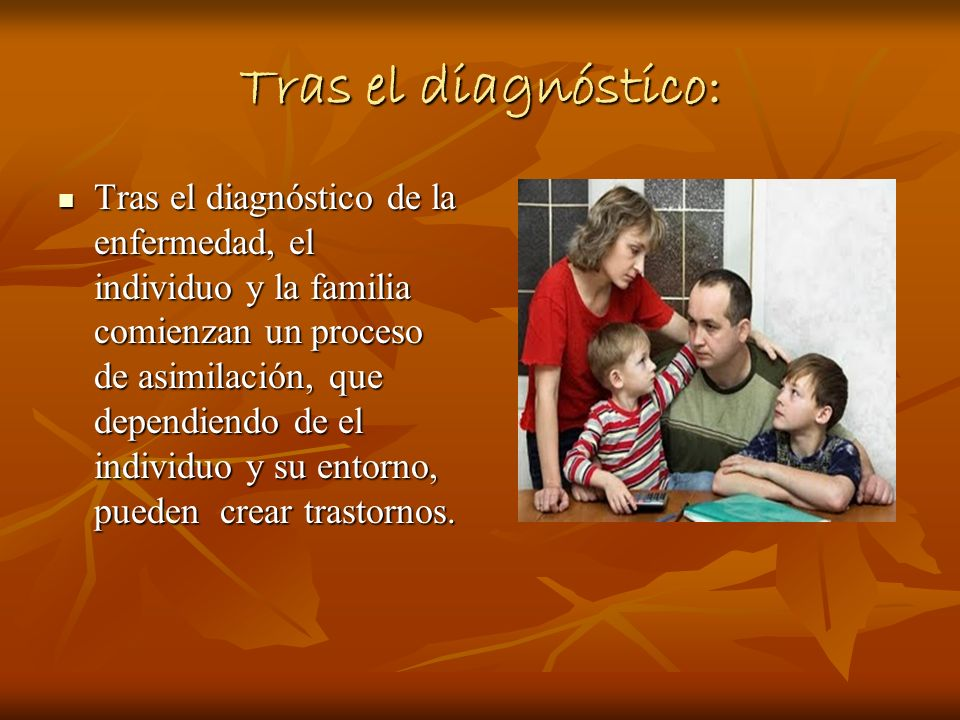 Tras el diagnóstico: