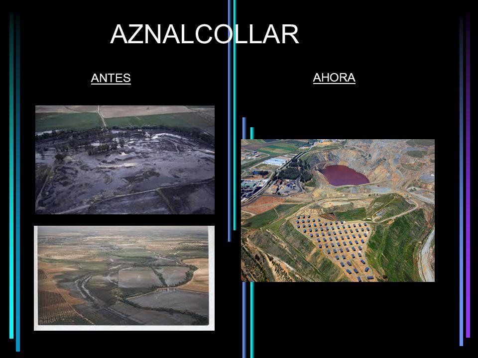 AZNALCOLLAR ANTES AHORA
