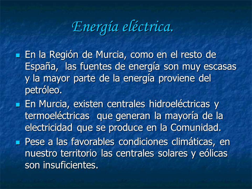 Energía eléctrica.