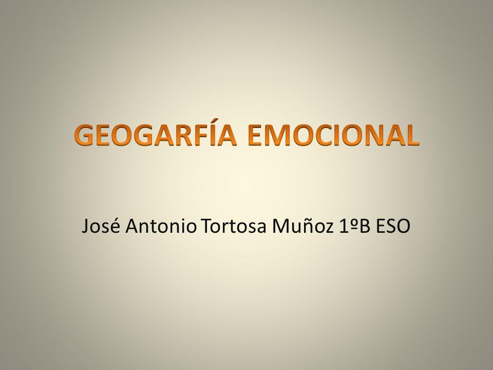 José Antonio Tortosa Muñoz 1ºB ESO