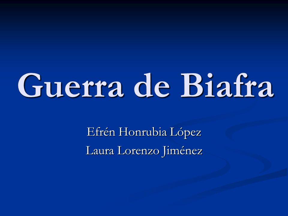 Efrén Honrubia López Laura Lorenzo Jiménez