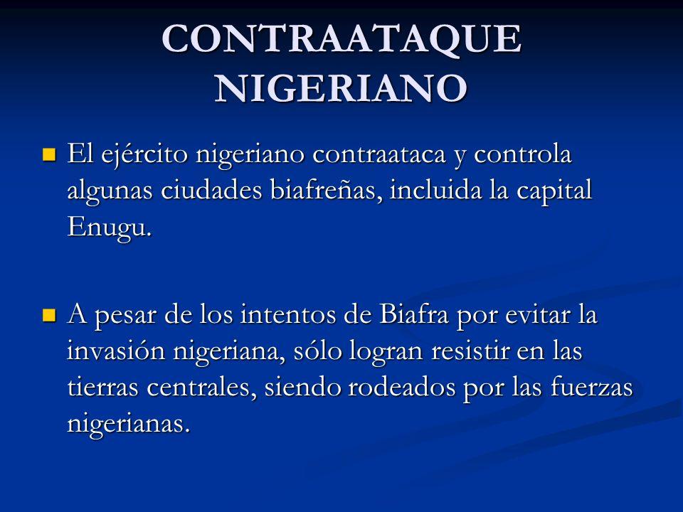 CONTRAATAQUE NIGERIANO