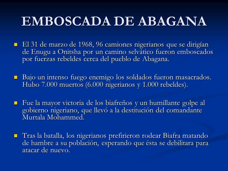 EMBOSCADA DE ABAGANA