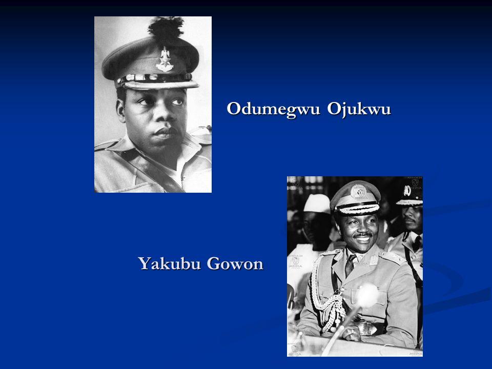 Odumegwu Ojukwu Yakubu Gowon