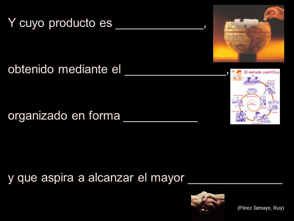 Y cuyo producto es _____________,