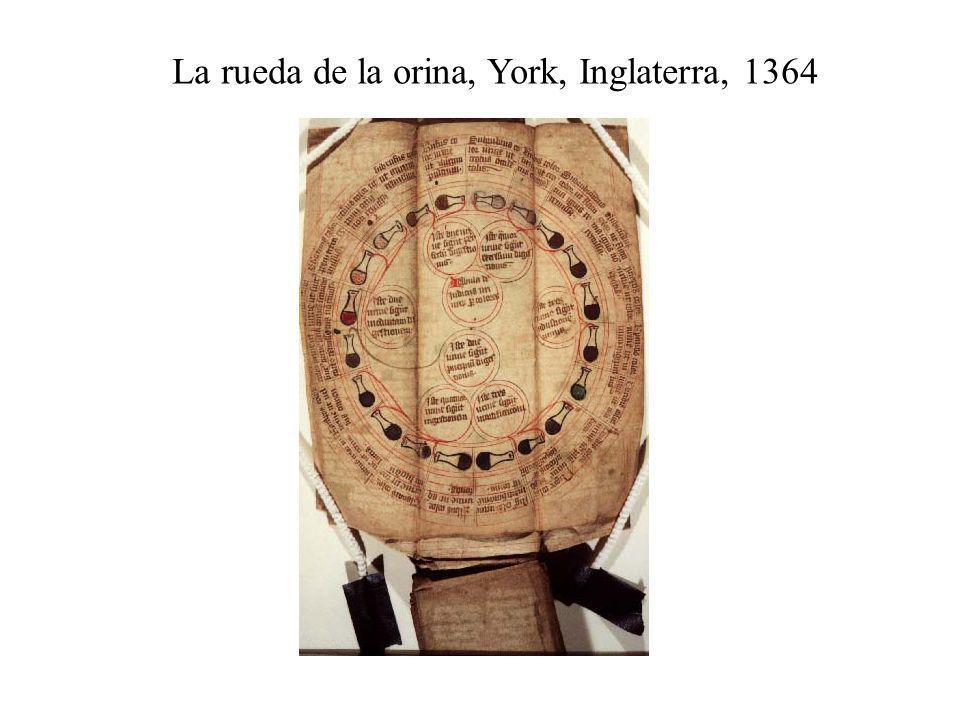 La rueda de la orina, York, Inglaterra, 1364