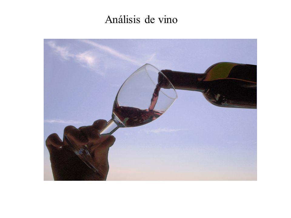 Análisis de vino