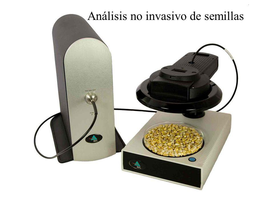 Análisis no invasivo de semillas