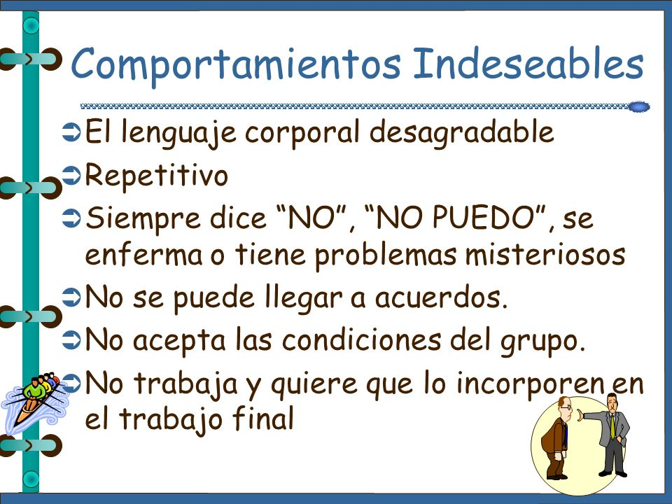 Comportamientos Indeseables