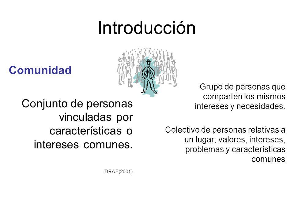 Introducción Comunidad