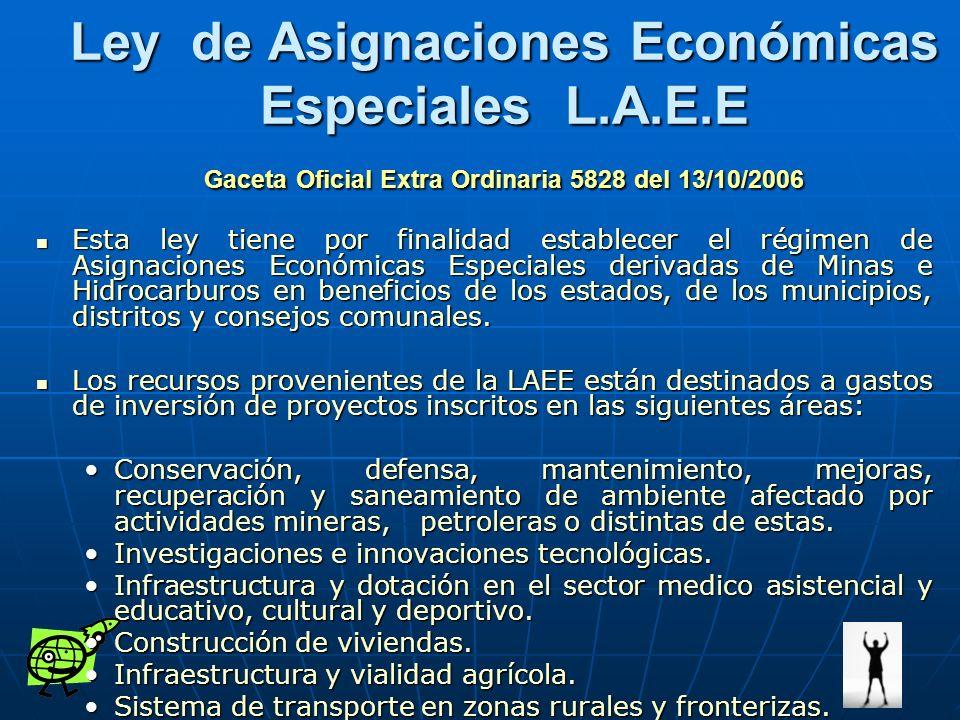 Ley de Asignaciones Económicas Especiales L. A. E
