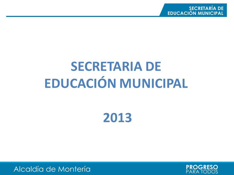 SECRETARIA DE EDUCACIÓN MUNICIPAL