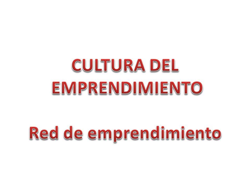 CULTURA DEL EMPRENDIMIENTO Red de emprendimiento