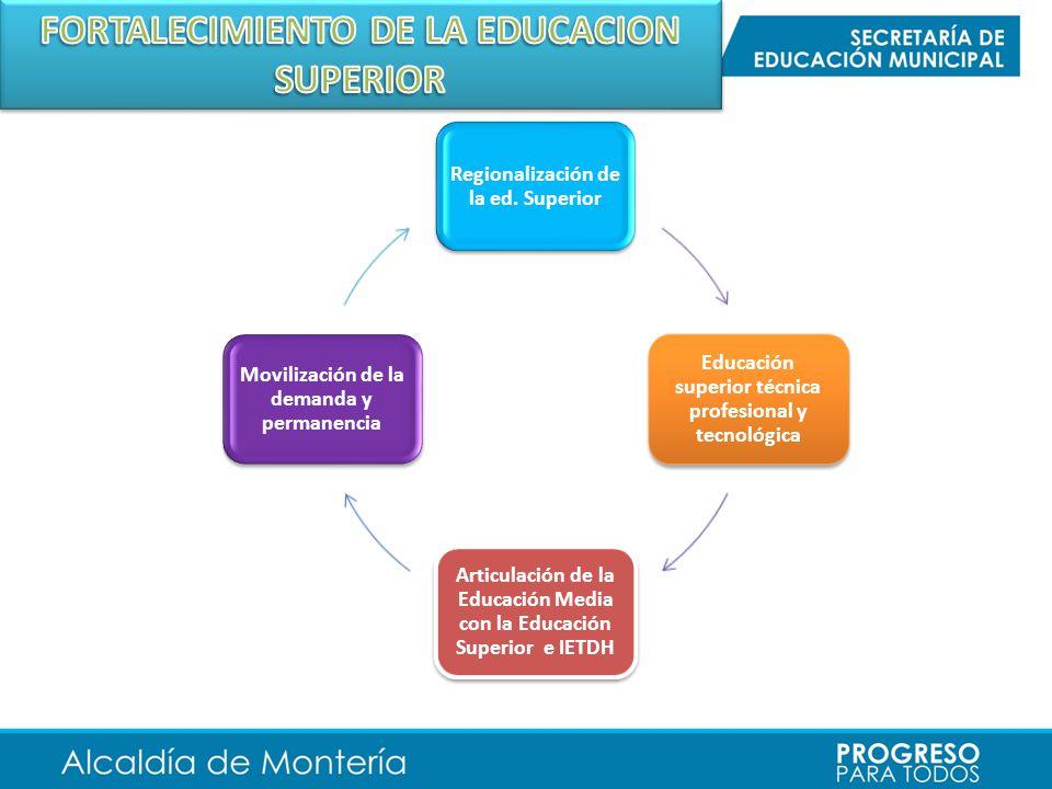 FORTALECIMIENTO DE LA EDUCACION SUPERIOR