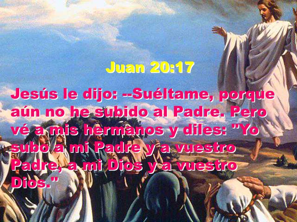 Juan 20:17