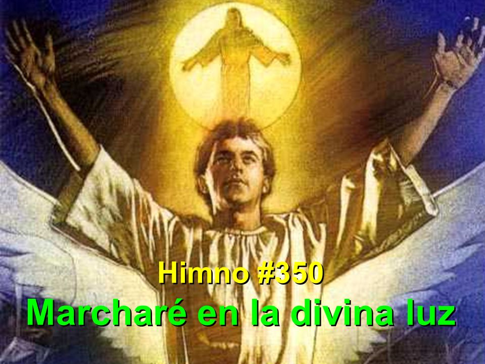 Marcharé en la divina luz